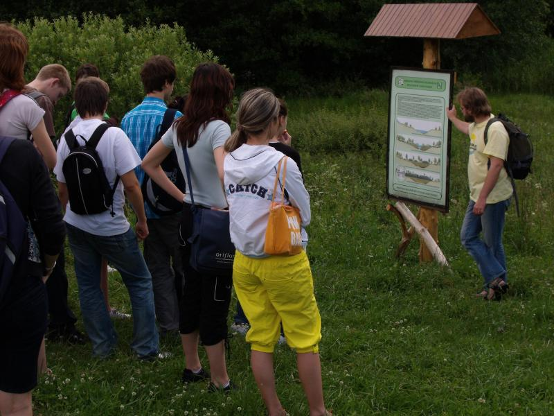 Exkurzia na rašelinisku v obci Regetovka